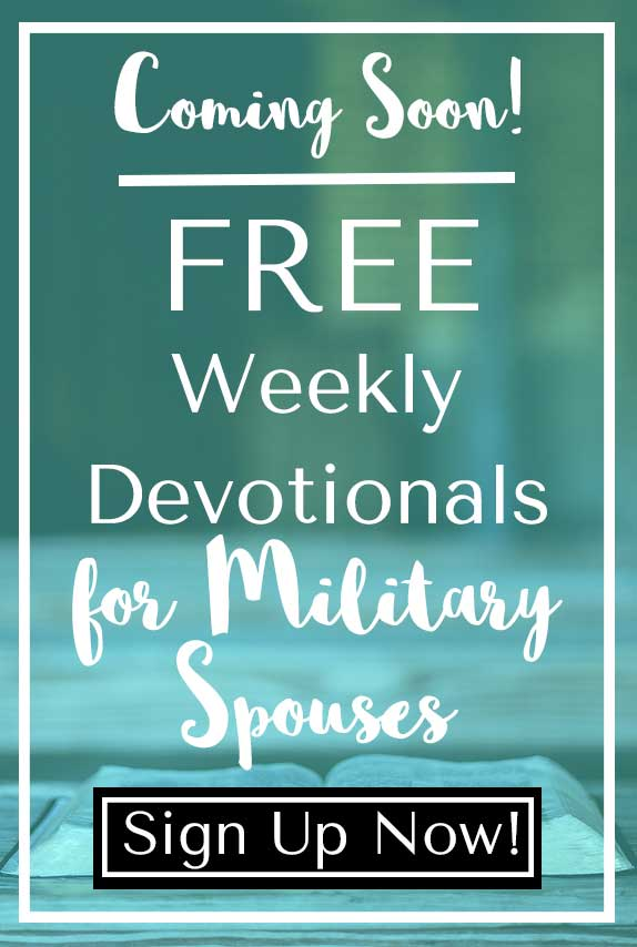 devotionals for military spouses