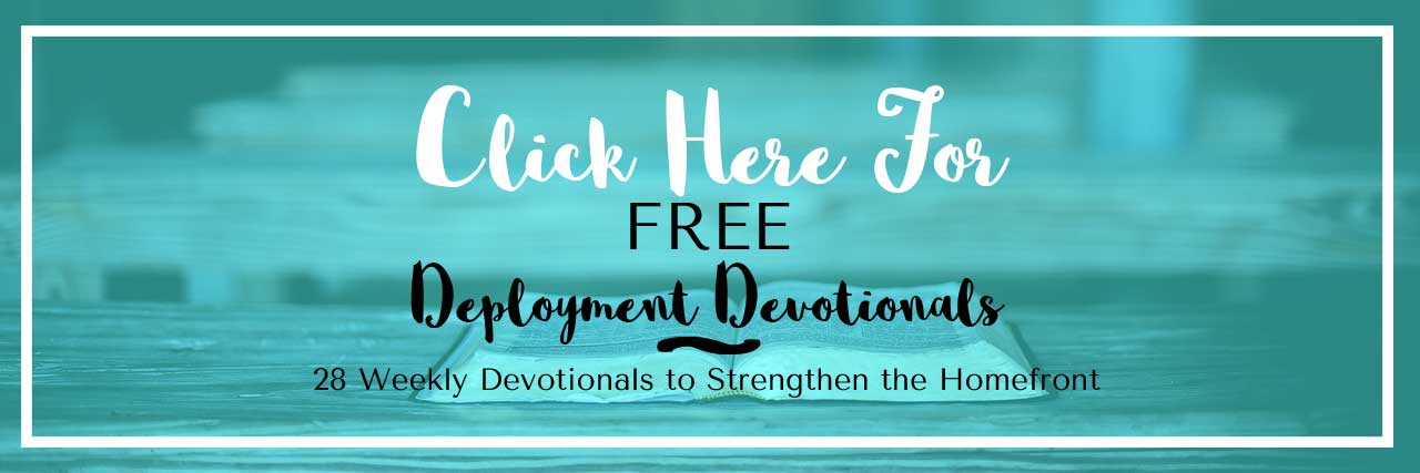 promotional for deployment devotionals