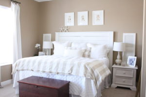 shiplap headboard tutorial
