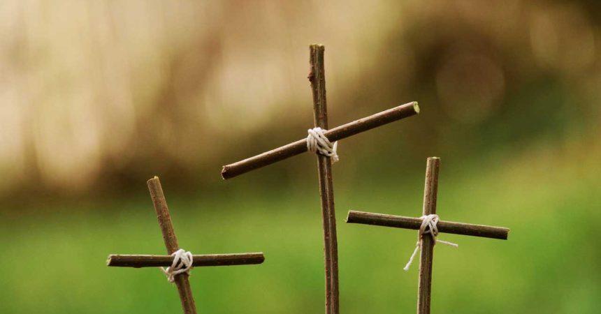 Christ's cross for military kids