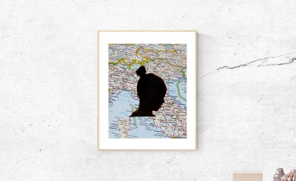 child silhouette for military spouse moms