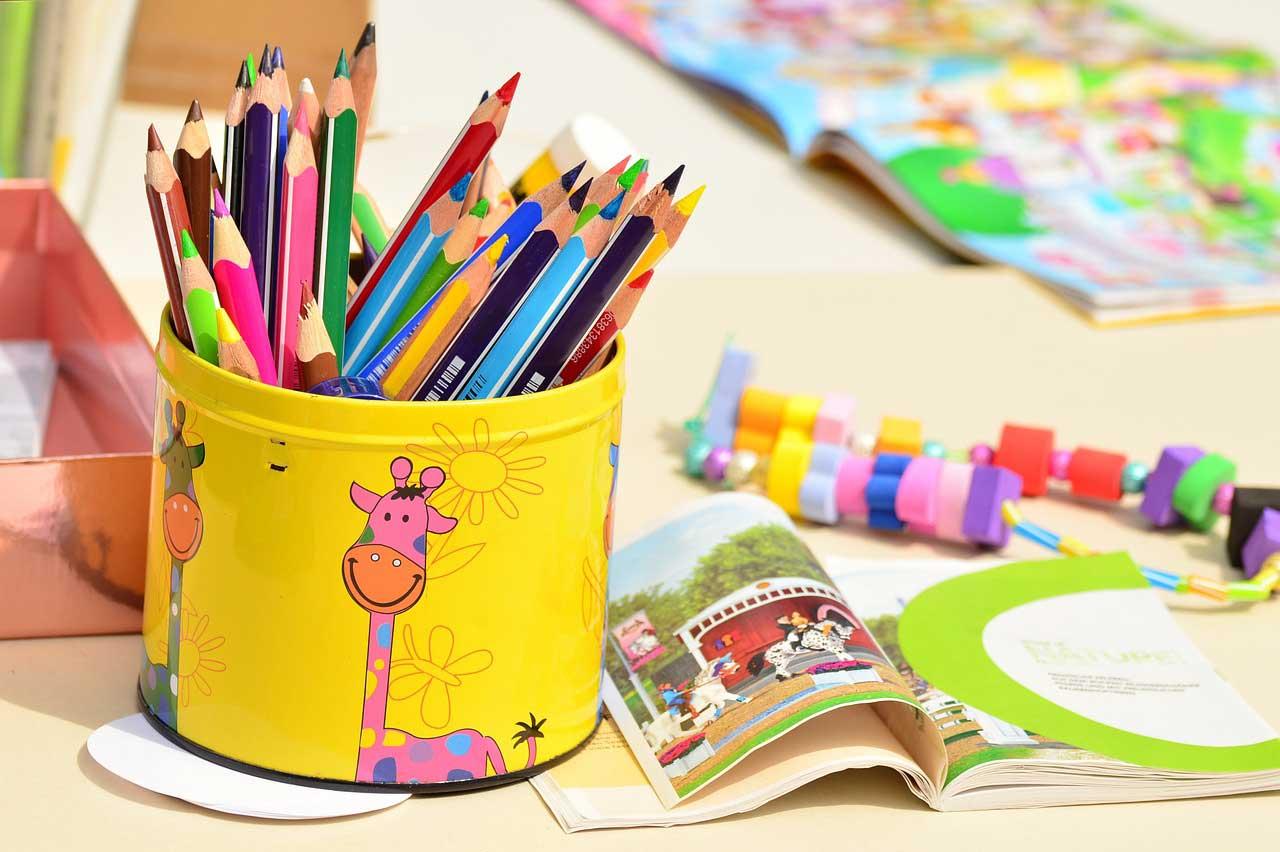 military child pcs color boxes