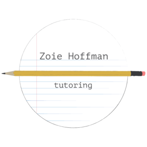 Zoie Hoffman Tutoring