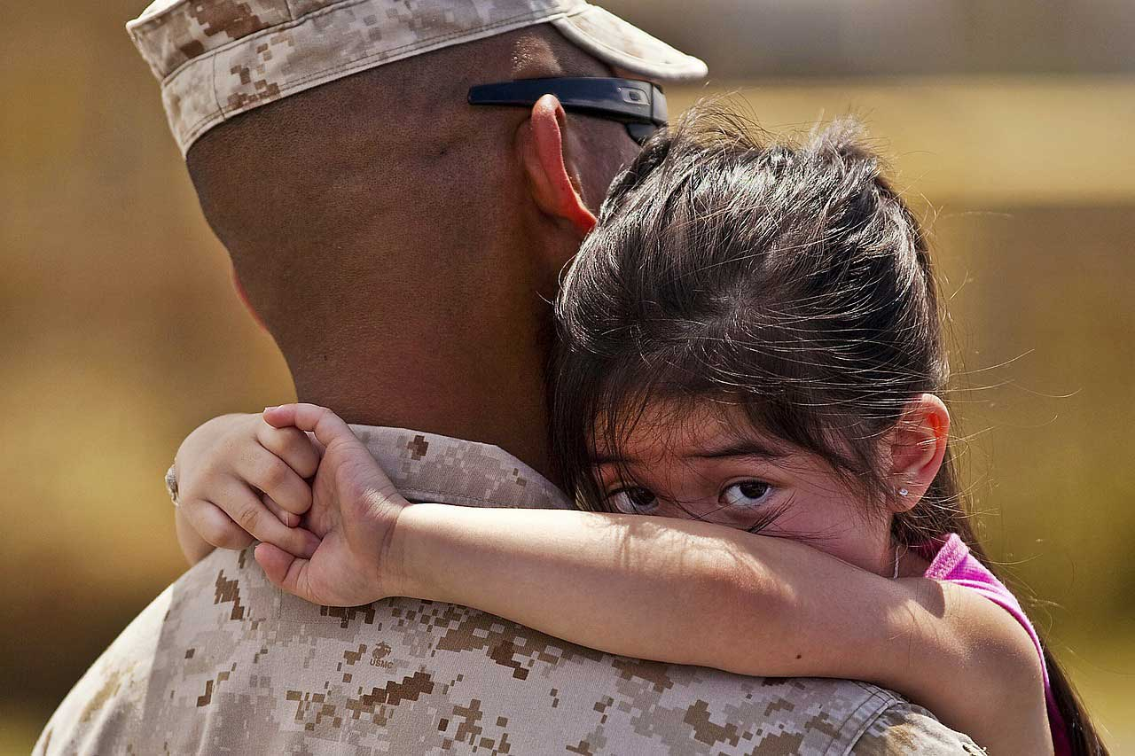 military father